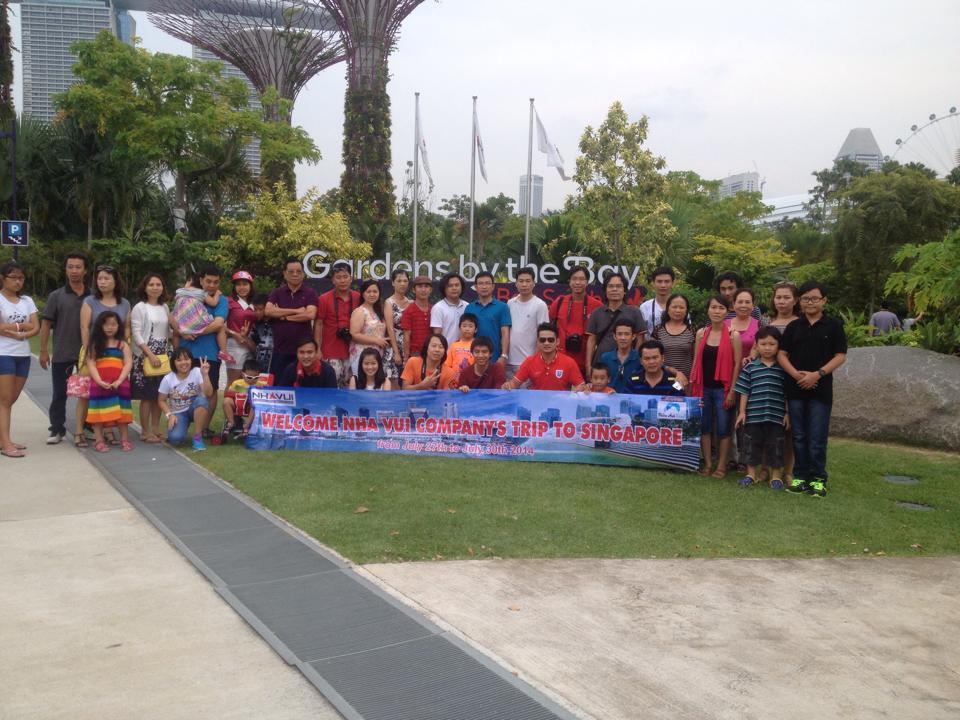 Những kỉ niệm cùng Thiên Anh Travel - Tour Singapore 4N3D