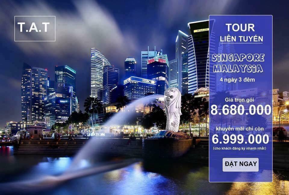 TOUR MALAYSIA - SINGAPORE 4N3D (Tặng 1 đêm ngủ Singapore)