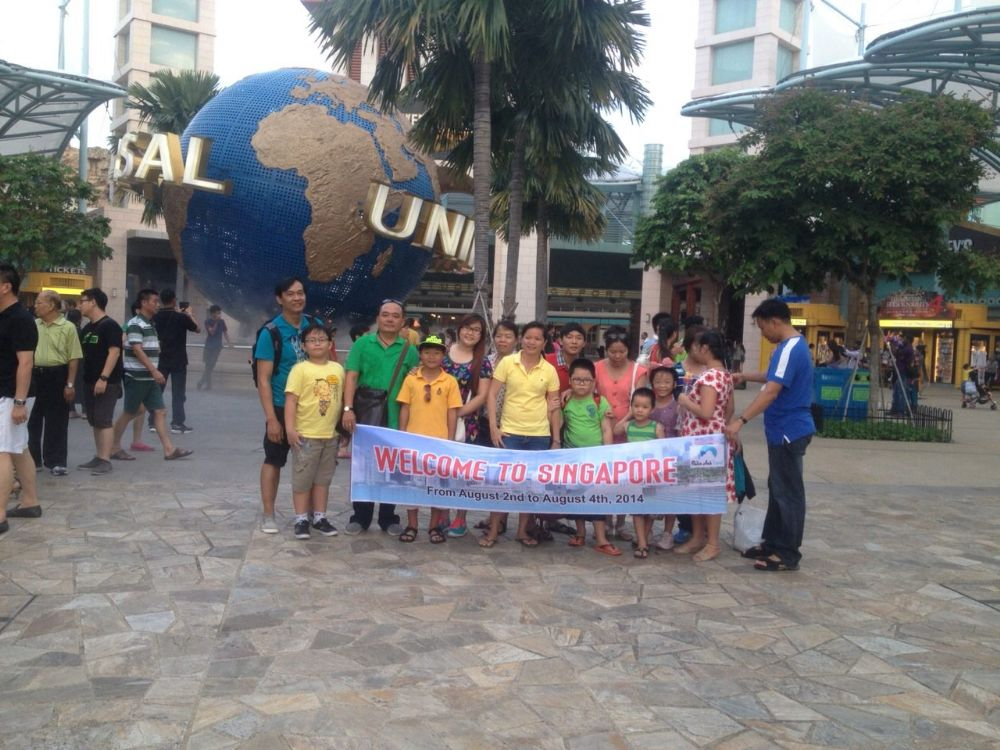 Những kỉ niệm cùng Thiên Anh Travel - Tour Singapore 3N2D
